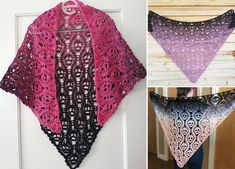 When you're just starting with crochet, it's hard to judge, which patterns are easy enough for you, and which are way beyond your skills. But it's really important to not get discouraged and to practice as much as you can. #freecrochetpattern #shawl #wrap
