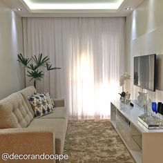 My house Sala pra ape Condo Living, Small Living Rooms, Home Living Room, Apartment Living, Living Room Decor, Room Interior, Interior Design Living Room, Living Room Designs, Condo Design