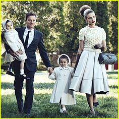 1950s family photo session