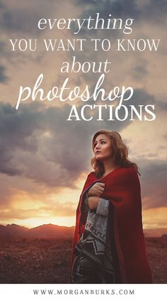Getting started with Photoshop Actions! Learn what they are, how to use them, and even download some free ones!   Find more tutorials and free products at www.morganburks.com