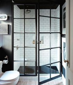Jenny Wolf designed this shower for a client in New York. | japanesetrash.com #LGLimitlessDesign #Contest