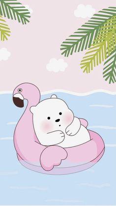 We bare bears Cute Panda Wallpaper, Cute Pastel Wallpaper, Cartoon Wallpaper Iphone, Bear Wallpaper, Cute Disney Wallpaper, Kawaii Wallpaper, Cute Wallpaper Backgrounds, We Bare Bears Wallpapers, Panda Wallpapers