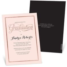 Small Graduation Party Invitations
