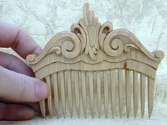 Hair accessories made of wood. Beautiful wooden comb for hair ! A great gift for any girl , woman ! Authors work . width of 4.7 inches , height of