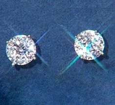 beedc5f94 EPIPHANY Diamonique 100-Facet 3 ct Stud Earrings, Platinum Clad SOLD OUT QVC  $60