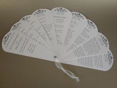 Un programa de la boda ~ hecho por un amigo | hemidemisemiquaver {algunas notas breves sobre mi vida cotidiana}