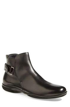 Prada 'Toblak' Plain Toe Boot (Men) available at Only Shoes, Men's Shoes, Louis Vuitton Men Shoes, Mens Boots Fashion, Sporty Style, Leather Boots, Chelsea Boots, Prada, Nordstrom