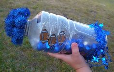How to make a Homemade Noise Maker. These would be fun to make for New Year's Eve too!