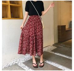 Long Skirt Outfits For Summer, Spring Outfits, Long Skirts For Women, Maxi Skirt Outfit Summer, Spring Skirts, Long Skirt Fashion, Modest Fashion, Long Skirt Style, Long Skirt Looks
