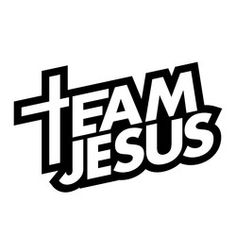Team Jesus Decal Religious Decal Christian Decals Vinyl Sticker for Car Window Die Cut Bible Verses Quotes, Faith Quotes, Christian Shirts, Christian Quotes, Web Design, Logo Design, Jesus Wallpaper, Logos, Christian Wallpaper