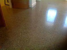 Polished Concrete Floor on Grand Designs