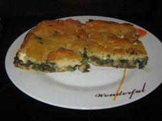 Flan, Quiche, Greek Sweets, Spanakopita, Greek Recipes, Food And Drink, Pizza, Baking, Breakfast
