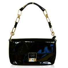 Anya Hindmarch Black Patent Bag  http://www.consignofthetimes.com/collections/handbags