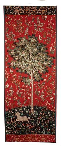 Oak Tree tapestry - medieval tapestries