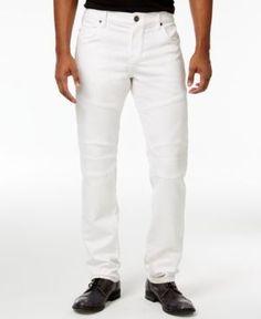41b755cb True Religion Men's Rocco Slim-Fit Stretch Biker Jeans & Reviews - Jeans -  Men - Macy's