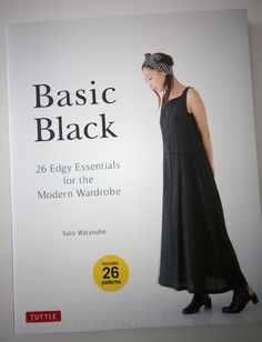basicblack.  New japanese pattern book published in English.