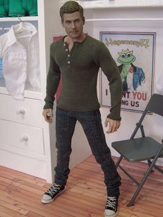 Hot Toys TTM 19 Body Style and Hyper Realistic Face Sulpt.