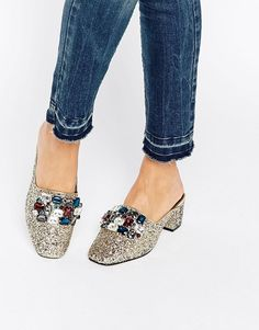 ASOS | ASOS SOMETHING GOOD Embellished Heels