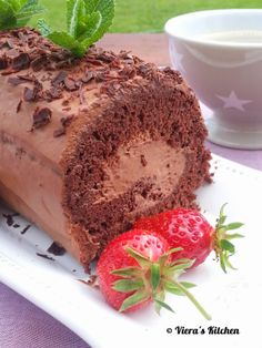 Viera´s Kitchen: Mousse au chocolat Roulade