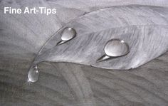 How to Draw Water Drops With Charcoal  Watch the video:  http://youtu.be/sduMlvHdvWg  #art #drawing #FineArtTips #waterdrops #charcoal