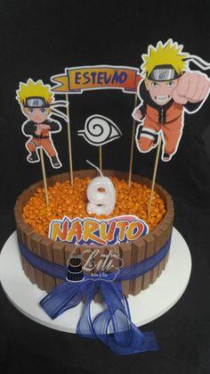Bolo Kit Kat Naruto