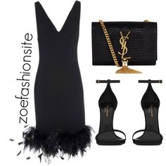 Untitled #91 by zoefashionsite on Polyvore featuring Yves Saint Laurent