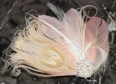 Blush Pink Goose Feathers and Bleached by SweetLovelyCreations, $29.99