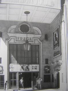 Cine Fraga y Nova Olimpia (sala actuaciones y discoteca)