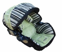 Infant Car Seat Cover in Baby Nolan