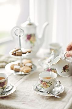 Afternoon tea..