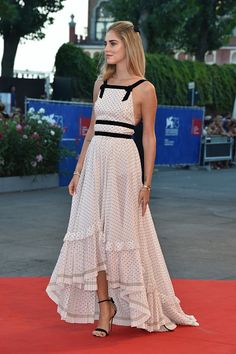 Chiara Ferragni attends the premiere of 'The Young Pope' during the 73rd Venice Film Festival at on September 3 2016 in Venice Italy