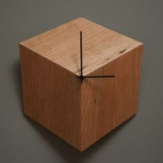 Unique Clock with Vanishing Points Effect – 3P Clock