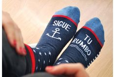 "Calcetines ""Sigue tu rumbo"""