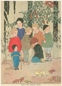 Don't be afraid, boys.  Margaret Evans Price, 1888-1973  NYPL Digital Gallery