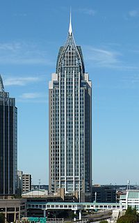 The RSA Battle House Tower - Alabama's tallest building