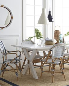 Riviera Side Chair & Where to find the best woven bistro chairs | Pinterest | Bistro ...