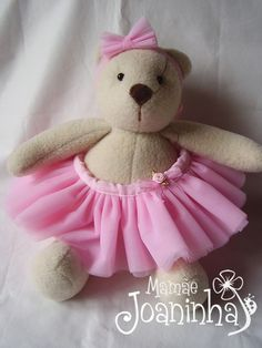 Make your own ballerina bears for an activity.