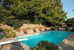 The Castle is located on the Tuscan coast with views across to the Island of Elba and offers all modern amenities with luxury air conditioned bedrooms, modern bathrooms, internet access and beautiful gardens with private swimming pool and Jacuzzi.