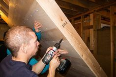 How to build a home climbing wall.