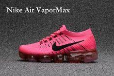 6ab85f8728 Discount Nikelab Air Vapormax Flyknit Pink Black Sneakers Girls Women's  Running Shoes