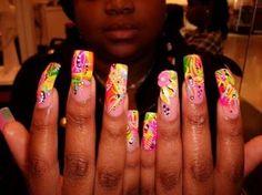 Ghetto nails designs | Nails