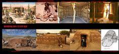 Le dimore Hohokam tradizionali erano costruzioni di forma allungata in canniccio ricoperte d'argilla e fango sopra delle basse depressioni scavate per raggiungere il duro strato di caliche che costituisce il sottosuolo di gran parte del deserto sabbioso. Anche se di forma diversa erano simili per materiale alle abitazioni dei Piman storici.