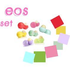 """eos set"" by blan-xoxo on Polyvore"