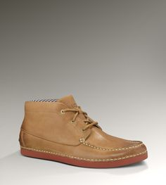 Ugg MENS KALDWELL  PRICE: $140  MODEL: 1000726    Quickly becoming the quintessential spring chukka, the Kaldwell boasts a burnished nubuck upper and seersucker-inspired, cotton-striped lining. Providing the pinnacle of whisperweight traction, a custom-created Vibram® outsole lends signature UGG® luxury.
