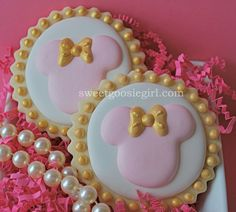 Biscoitos Decorados Confeitados | Minnie Mouse