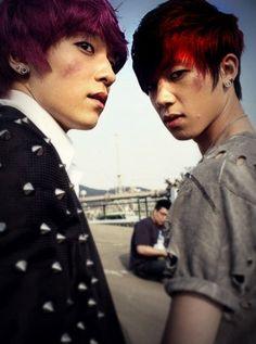 my two teen top favs! L.Joe and Changjo