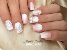 Instagram media mbettinanails - #brillbird #martonbettina #bettinamarton #nail #nails #nailart #naildesign #nailpolish #nailfashion #babyboomer #babyboomernails #white #műköröm #köröm #studionails