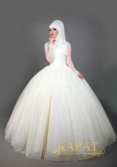 Свадебный платье для хиджабов