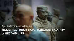 Relic restorer gave Terracotta Army a second life