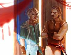 Tamlin and Lucien Guys if you have read acowar, what are your views of Tamlin now?  Everyone who haven't read acowar, please don't read the comments. There will be spoilers! [Source/Art: By Las-t on DeviantArt] - #acomaf #acowar #feyrhys